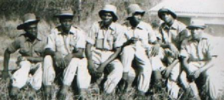 Members of the GCI Cadet Corps in the '60s.