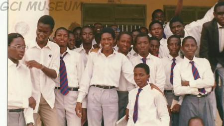 1981 Set boys shortly after their Valedictory Service.