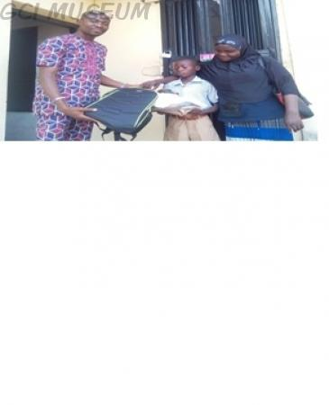 First Beneficiary of Operation Kit Up GCI Students by 1991 January Set