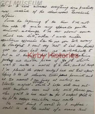 Gabriel Akinola Deko,Akindeko's Letter to Inspector of Education,GCI,Exhibition