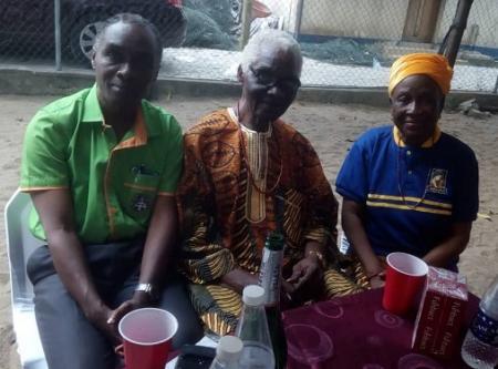 Folarin Afuwape (1975), Aromasodu (1949) and his Young Girl