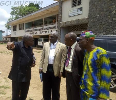 GCI,GCI Museum,Chris Kolade,Courtesy Visit to GCI,Olugbenga Oyesanmi,Igbobi College,GCI Press Club