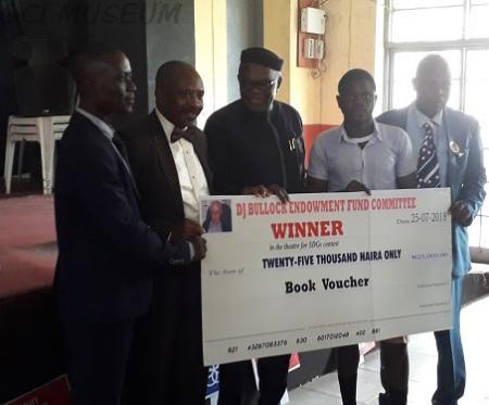 GCI Wins The DJ Bullock Inter-School Theatre For SDGs Contest