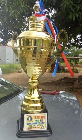 2018 Oyo State Children's Day March Past Trophy Won By GCI