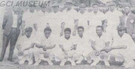 Nigeria Cricket Team 1969 in Sierra Leone