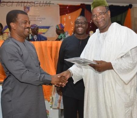 Adebola Ogunsina Wins GCIOBA-Lagos Branch Merit Award 2018