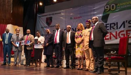 Seye Arowolo, Femi Osofisan, Wale Babalakin, Yinka Adepoju and Tola Obembe