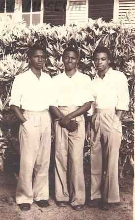 RB Alade, Ofuya and Olufemi Olutoye (1949)