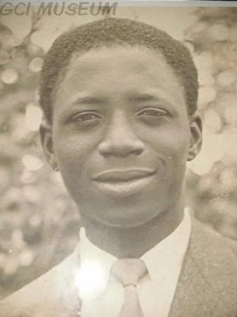 Victor Olunloyo (1948) at 18