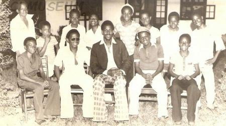 GCI old boys, 1974 Set.