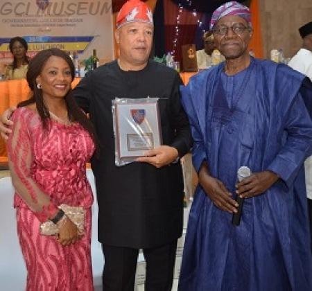 Stephen Faderin Wins GCIOBA-Lagos Branch Merit Award