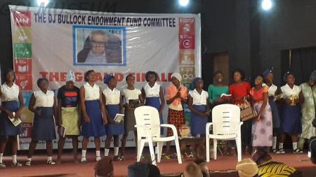 A QSI Scene At The DJ Bullock Inter-School Theatre For SDGs Contest