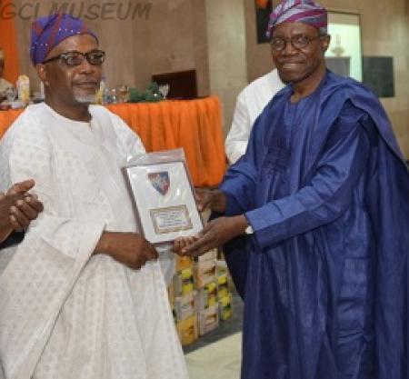 Naseem Sanyaolu Wins GCIOBA-Lagos Branch Merit Award