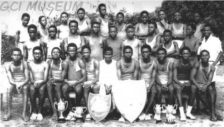 swanston house athletics team 1970