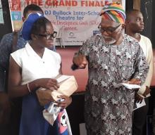 Best Actress At The DJ Bullock Inter-School Theatre For SDGs Contest