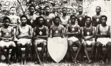 Grier House Athletics Team 1944 Tunji Otegbeye Omonoba Erediauwa Prince Akenzua