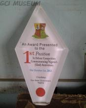 Award of Excellence,52nd Independence Anniversary,Debate Competition