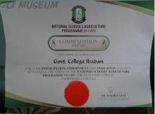 Award,GCI,Agribusiness Club,