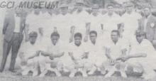 Nigeria Cricket Team 1969 in Sierra Leone