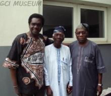 The Alades and Chief Olusegun Obasanjo