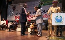 Wale Babalakin, Femi Osofisan and Tola Obembe
