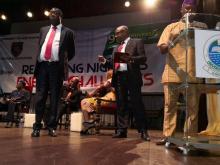 Wale Babalakin, Yinka Adepoju and Tola Obembe