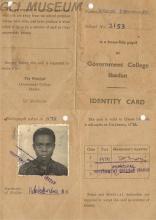Tokunbo Jegede School ID Card