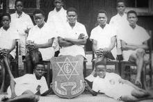 GCI Dramatic Club Members in 1946